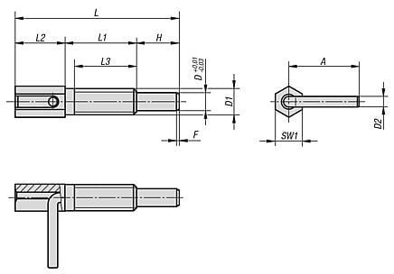 K0340 inch drawing