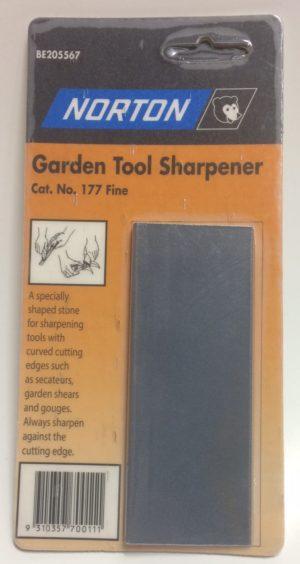norton tool sharpener garden 177 fine