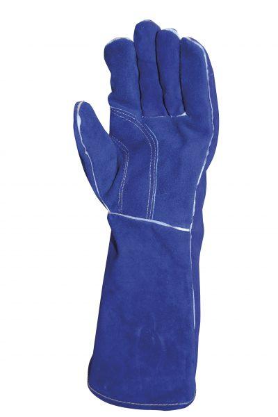 blue flame kevlar glove