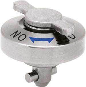 KIPP K1061 1/4 turn lock flat